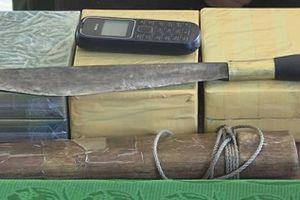 Bắt nóng đối tượng vận chuyển 6 bánh ma túy từ Lào về Việt Nam