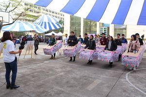 Hơn 1.000 sinh viên trải nghiệm an toàn giao thông trong 'Còi Show'