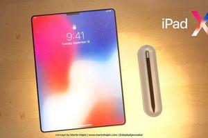 Lộ diện hình ảnh iPad X: tai thỏ, màn hình vô cực