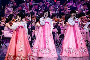 Ấn tượng dàn nhạc Triều Tiên biểu diễn tại Hàn trước thềm Olympic