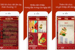 Top 5 ứng dụng điện thoại vui dành cho ngày Tết