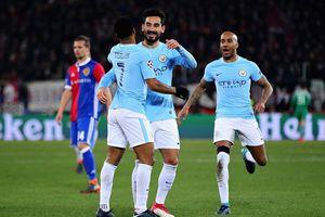 Đè bẹp Basel, Man City đặt 1 chân vào tứ kết Champions League