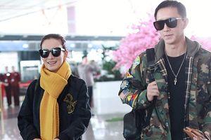 Sao nữ 'Chiến lang' ra mắt gia đình Han Geng dịp Tết