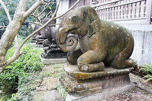 Bí ẩn 10 linh thú quỳ chầu ở chùa Phật Tích