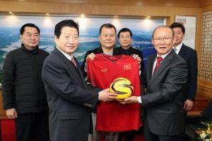 HLV Park Hang-seo được thị trưởng thành phố quê hương mời làm đại sứ