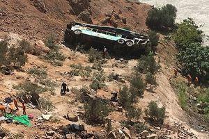 Tai nạn xe khách thảm khốc ở Peru, 44 người thiệt mạng