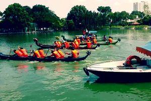 Hà Nội sẽ có lễ hội bơi chải thuyền rồng truyền thống