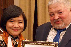 Nhà thơ, dịch giả người Việt được trao giải văn học Nga