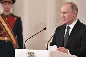 Tổng thống Putin vinh danh thiếu tá phi công hi sinh tại Syria