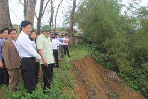Quảng Trị: Lên kế hoạch khẩn trương khắc phục các điểm sạt lở nghiêm trọng bờ sông