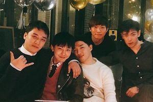 Big Bang tụ tập đầy đủ 5 thành viên trước ngày G-Dragon nhập ngũ