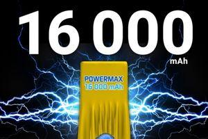 Smartphone pin siêu 'khủng' 16.000 mAh sắp ra mắt
