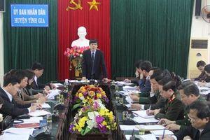 Lãnh đạo Thanh Hóa làm việc tại Tĩnh Gia về những vướng mắc xây dựng cảng container Long Sơn
