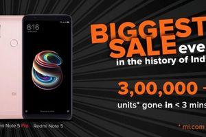 Xiaomi Redmi Note 5 Pro 'cháy hàng' trong vài giây bán ra