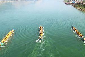 Lễ hội đua thuyền đuôi én