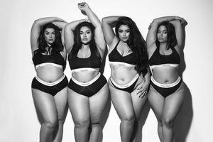 Bắt chước bộ ảnh thời trang của chị em nhà Kardashian, dàn mẫu béo đẹp không thua kém
