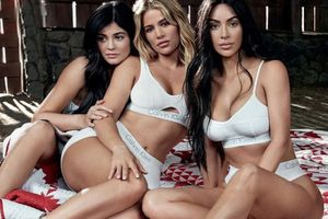 Dàn mẫu béo bắt chước ảnh thời trang của chị em Kardashian