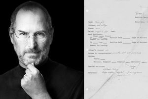 Đấu giá thư xin việc của huyền thoại Steve Jobs