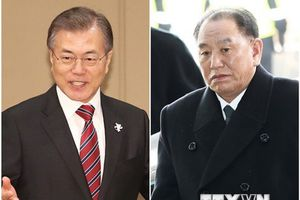 Phái đoàn Triều Tiên gặp các quan chức cấp cao Hàn Quốc