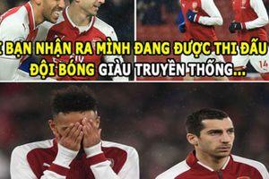 ẢNH CHẾ HÔM NAY (26.2): Arsenal có truyền thống 'buông', Chelsea nhỏ bé