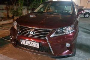 Quản lý khách sạn dùng xe máy truy đuổi kẻ nghi trộm Lexus