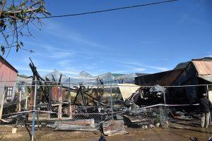 Lâm Đồng: Xưởng gỗ bị 'bà hỏa' thiêu rụi trong đêm
