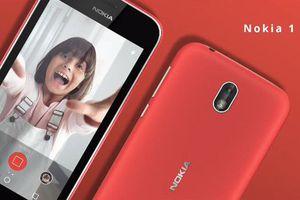 Nokia 1 ra mắt: điện thoại Android Go đầu tiên của Nokia với mức giá phải chăng