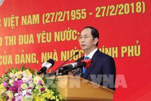 Chủ tịch nước dự lễ kỷ niệm 63 năm Ngày Thầy thuốc Việt Nam của Bệnh viện Bạch Mai