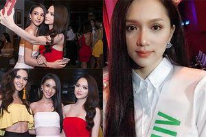Loạt ảnh đầu tiên của Hương Giang Idol tại cuộc thi Hoa hậu chuyển giới