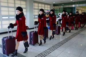 Phút cuối ở Hàn Quốc, đội cổ vũ Triều Tiên vẫn gây chú ý vì quá xinh đẹp