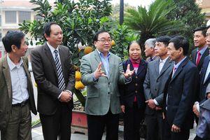 Bí thư Thành ủy Hoàng Trung Hải gặp gỡ, tiếp xúc với nông dân Thủ đô