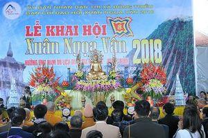 Tưng bừng Lễ hội Xuân Ngọa Vân 2018