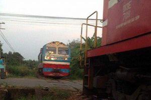 Clip: 2 tàu hỏa suýt tông nhau ở Đồng Nai khi chỉ còn cách 10 mét