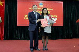 TANDTC bổ nhiệm Phó Giám đốc Học viện Tòa án