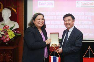 Báo Kinh tế & Đô thị và báo Thai News hợp tác truyền thông về xúc tiến đầu tư và du lịch