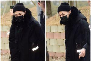 G-Dragon chính thức nhập ngũ, fan Hàn chen nhau chào tạm biệt