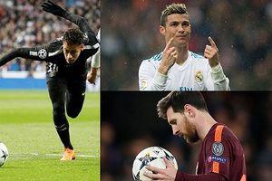 Những 'nhà ảo thuật' trên sân cỏ: Messi dưới Neymar, Ronaldo vắng bóng