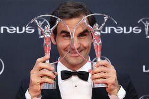 Vượt Ronaldo, Federer đoạt giải 'Oscar thể thao'!