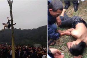 Bộ VHTT&DL lên tiếng vụ nam thanh niên ngã bất tỉnh khi trèo cây chuối 'lấy lộc'