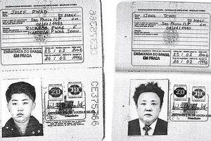 Hé lộ hình ảnh hộ chiếu Brazil của cha con lãnh đạo Triều Tiên