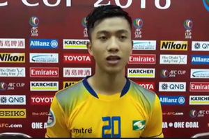 Tuyển thủ U23 tiết lộ bí quyết giúp SLNA hạ nhà vô địch Malaysia