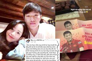 Thực hư chuyện bạn gái Xuân Trường hối hận, xin lỗi vì mỉa mai fan U23 Việt Nam