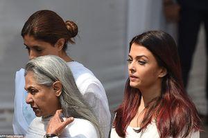 Hoa hậu thế giới và dàn sao Bollywood tiễn đưa huyền thoại điện ảnh Ấn Độ