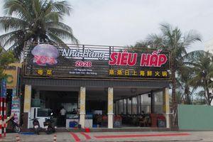 Đà Nẵng: Xử phạt hơn 12 triệu nhà hàng Siêu Hấp dùng hóa đơn tiếng Trung, còn bán rượu lậu