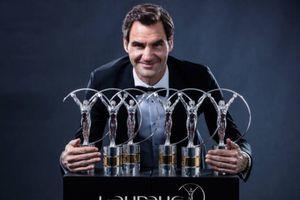 Federer tri ân Nadal trên bục nhận giải 'Oscar thể thao'