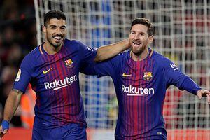 Messi và Suarez ghi bàn nhiều hơn 74 đội ở châu Âu