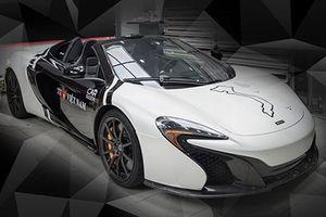 Cường Đô la 'thay áo' siêu xe McLaren 650s Spyder 16 tỷ