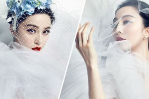 Ngắm Phạm Băng Băng mặc váy cưới trước khi làm cô dâu của Lý Thần