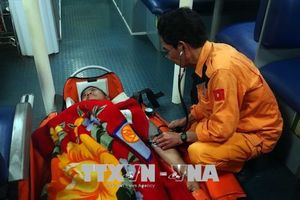 Cứu nạn một thuyền viên Philippines bị nhồi máu cơ tim trên biển