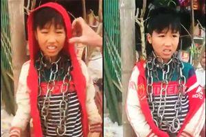 Thanh Hóa: Nghi trộm vàng bé trai 13 tuổi bị xích nhiều vòng ở cổ